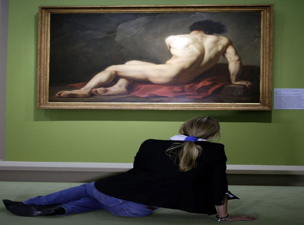 Investigations into the 'self': a visitor at the Orsay Museum in Paris