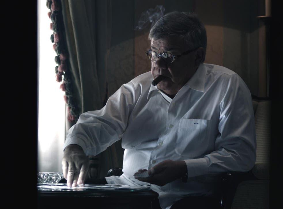 Covert political arbitrator: Ollivier in 'Plot for Peace'