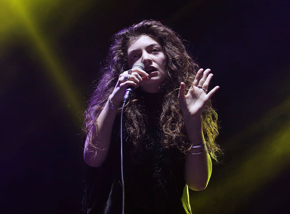 Lorde admits she is 'really stubborn' but has turned down a slot supporting Katy Perry in order to establish herself independently