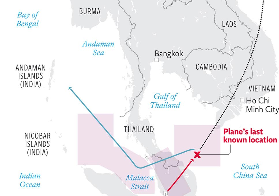 Missing Malaysia Airlines Flight MH370: Satellite 'pings