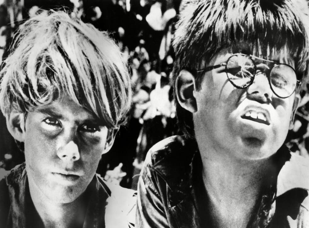 James Aubrey and Hugh Edwards in the 1963 film version of Lord of the Flies