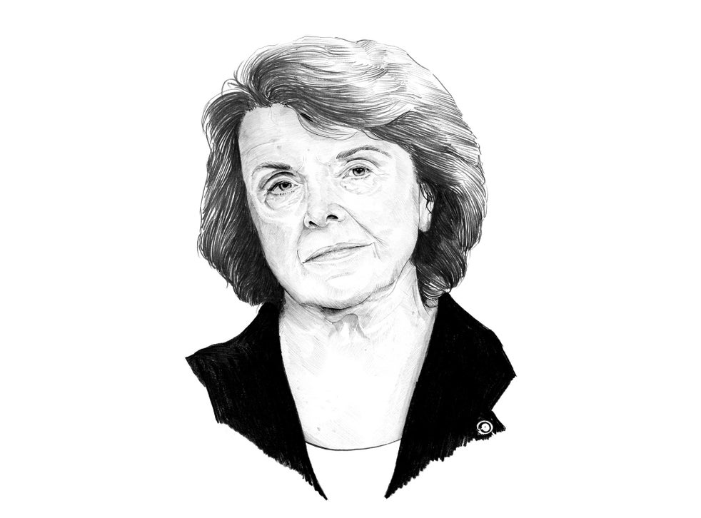 the cia s nemesis dianne feinstein renowned campaigner against gun ownership and for gay rights the independent the independent the cia s nemesis dianne feinstein