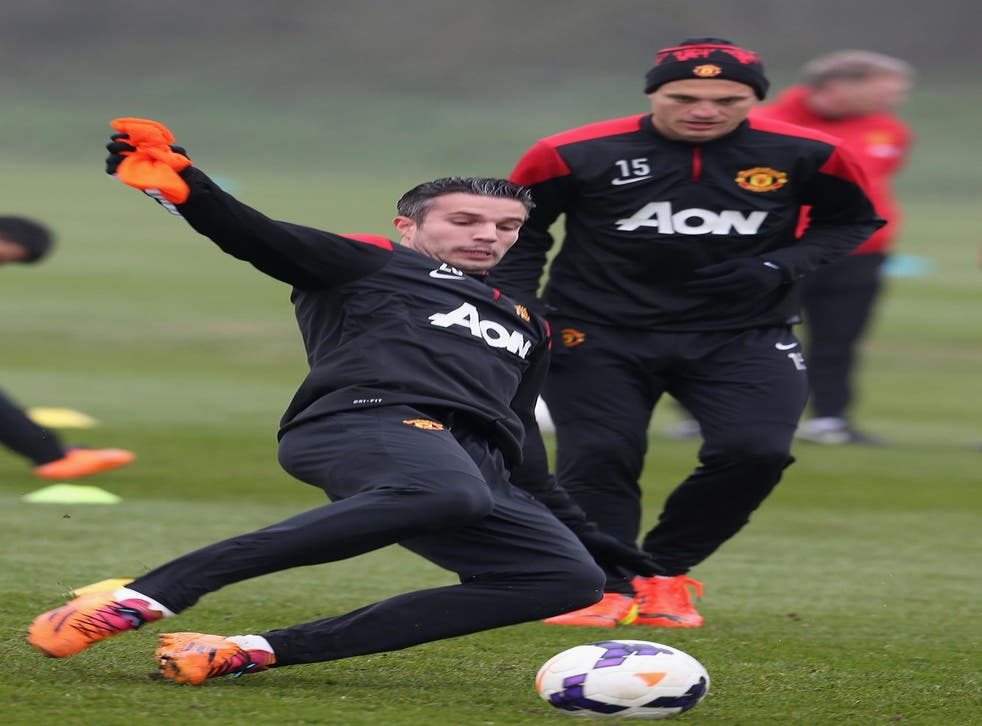 Robin van Persie scored home and away against Liverpool last season and is a big-game player