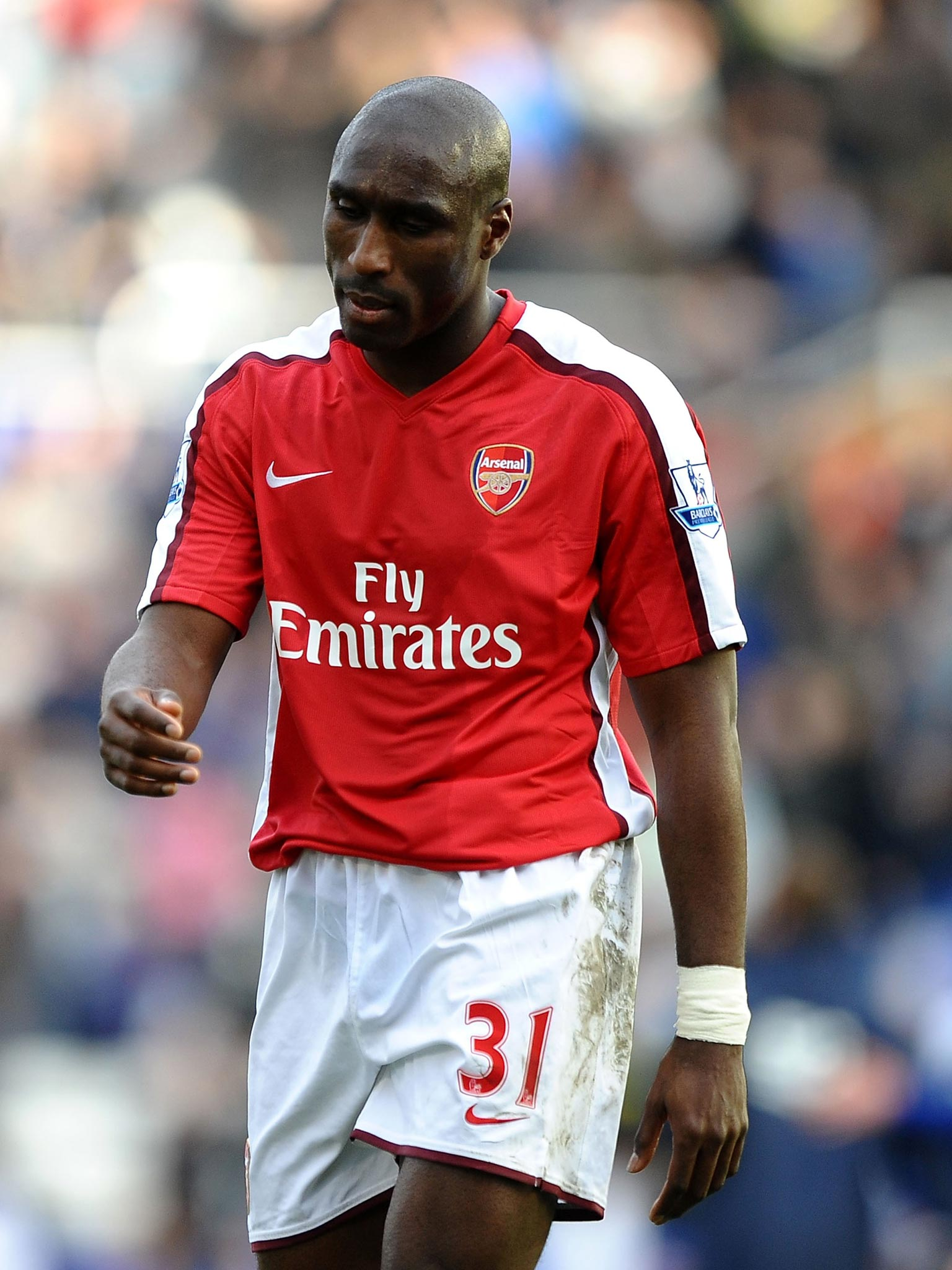 tottenham v arsenal sol campbell comes across as tortured and