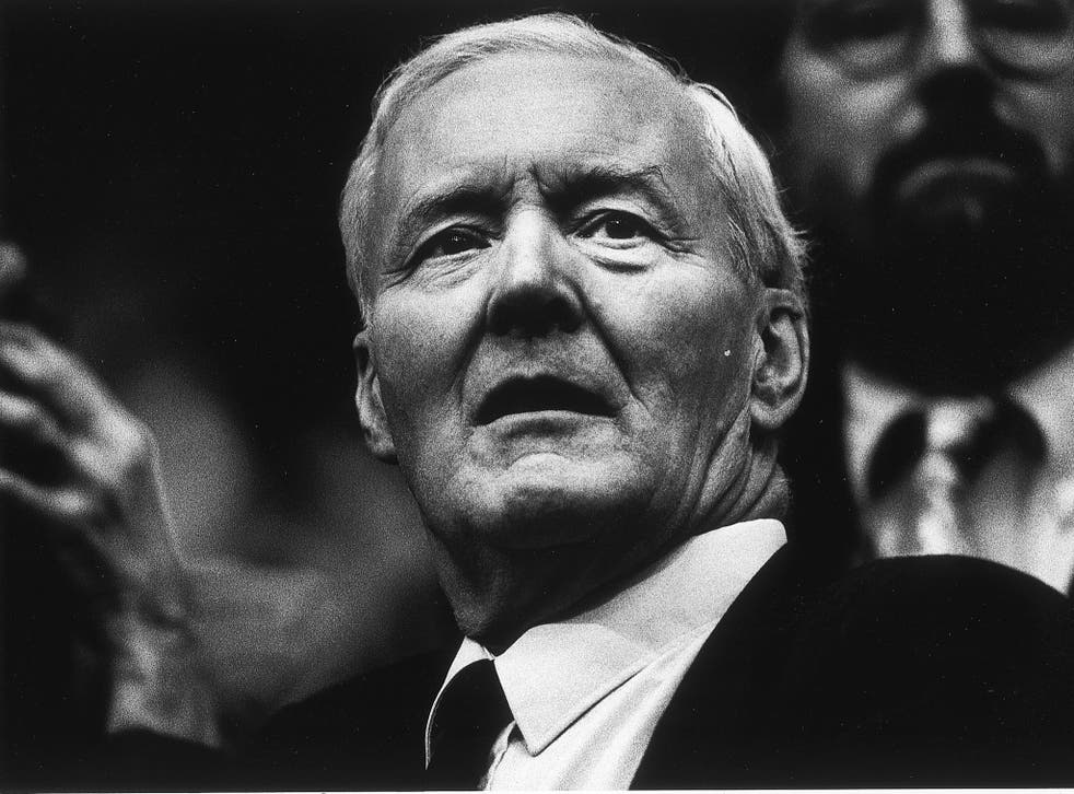 The veteran Labour politician and campaigner for socialism Tony Benn