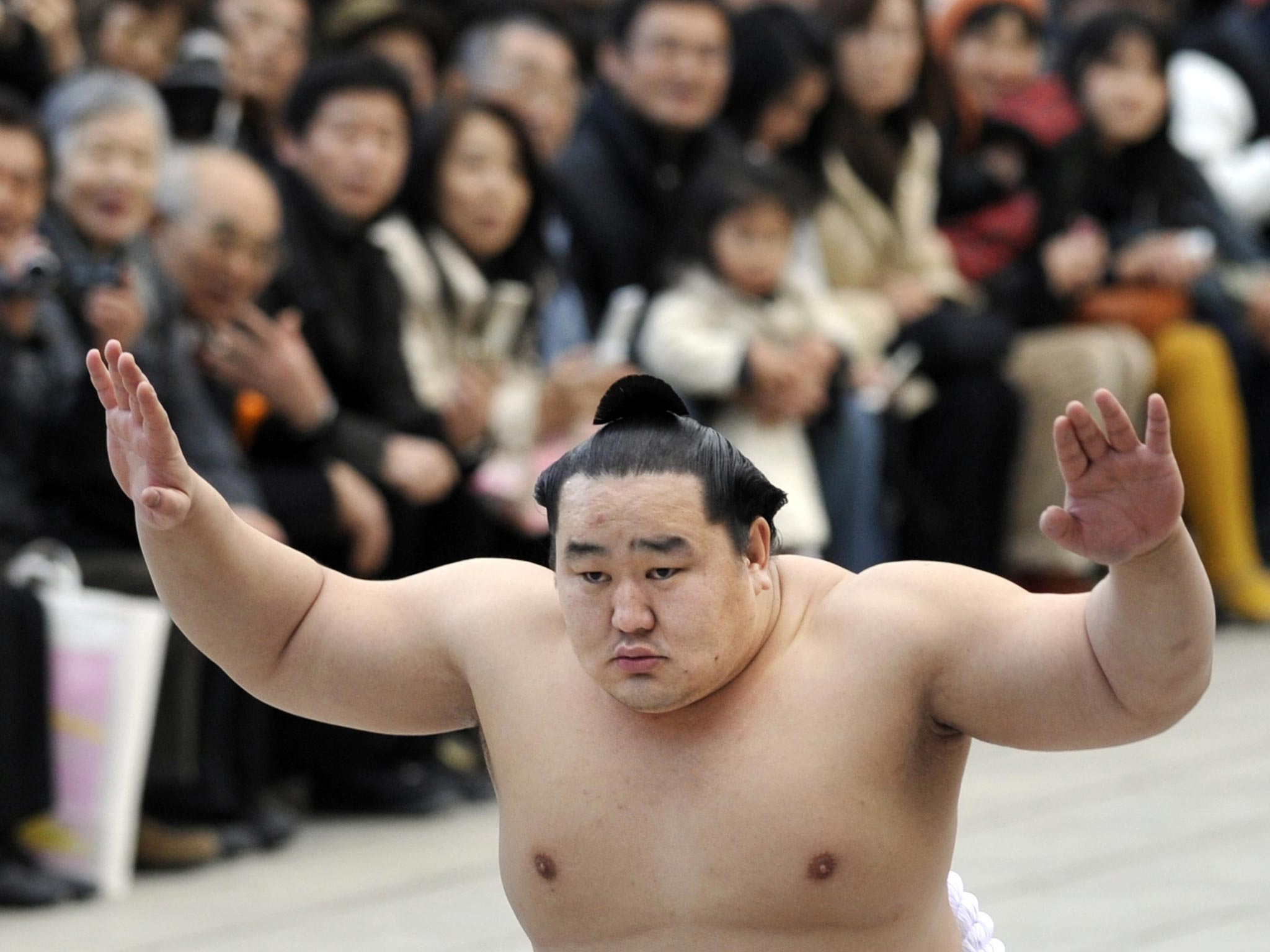 Sporting Heroes Asashoryu Akinori Big Daddy Of All Sumo