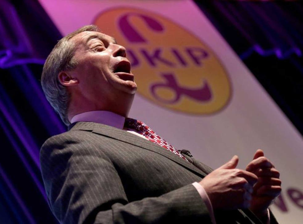 UK Independence Party is on course to win the largest share of the vote in elections for the European Parliament