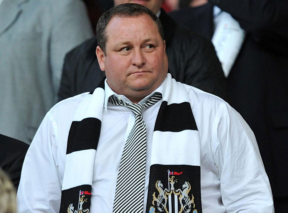 Mike Ashley, who also owns Newcastle United