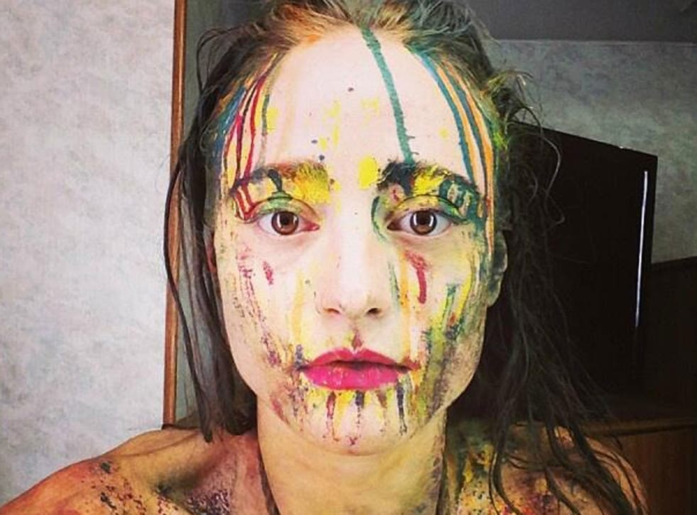 Performance artist Millie Brown has voiced her belief in 'absolute freedom of expression' after she vomited on Lady Gaga at SXSW