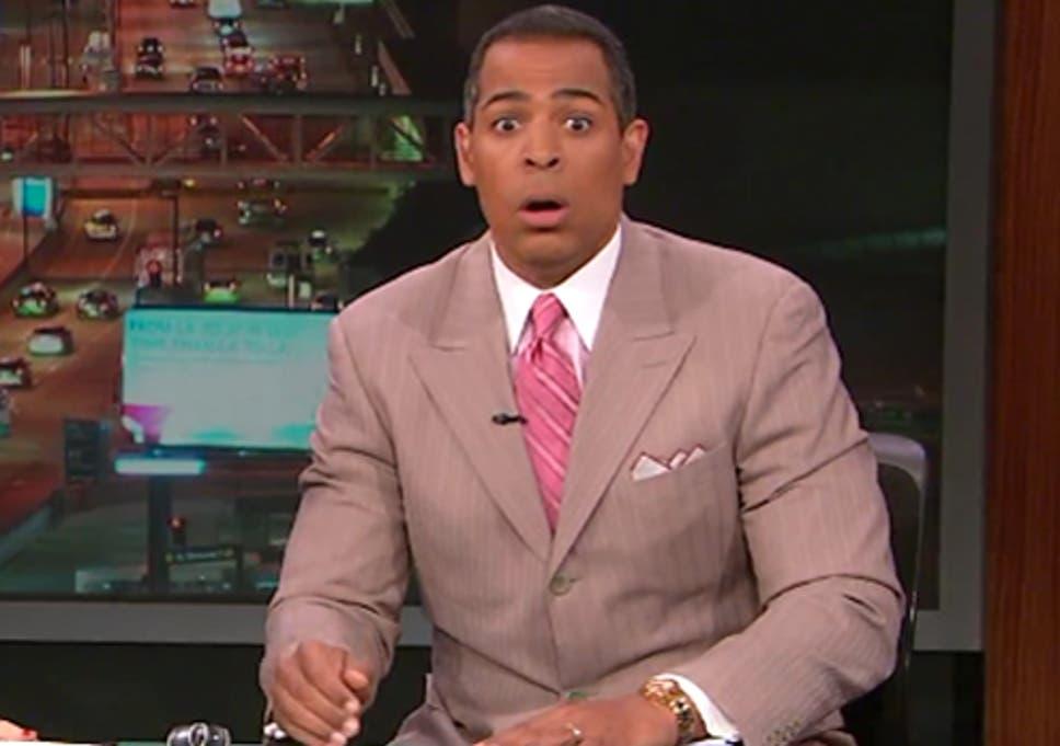 Overreaction? KTLA news anchor Chris Schauble freaks out