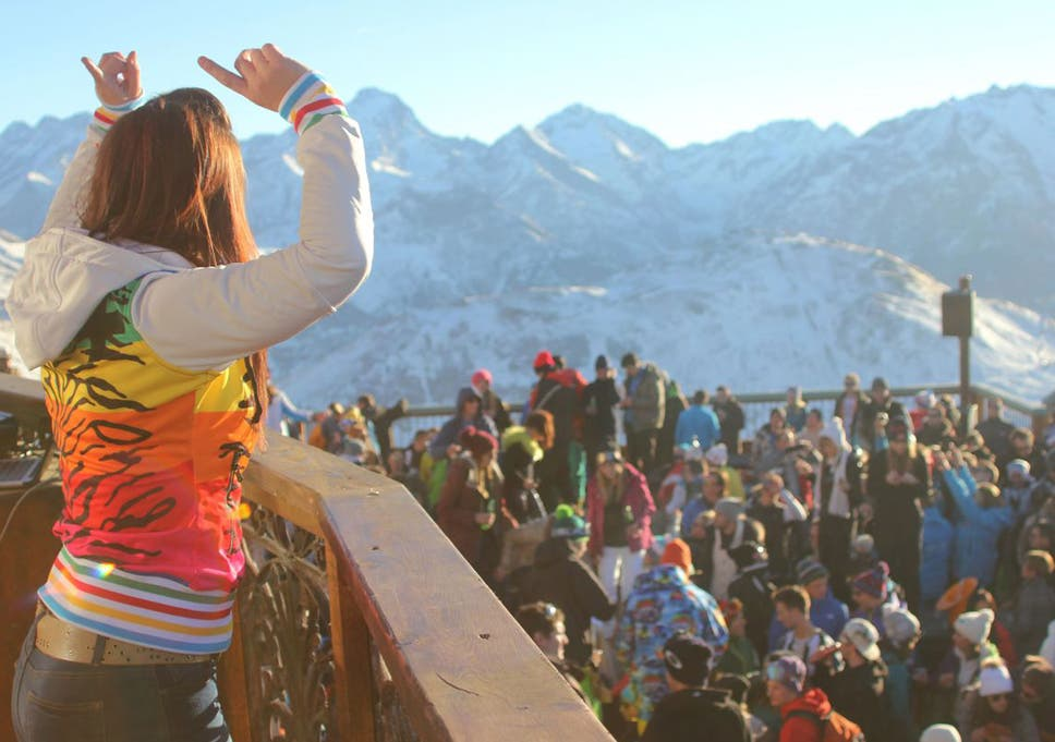 Alpe D Huez And La Folie Douce You Ve Got To Get Up To Get Down