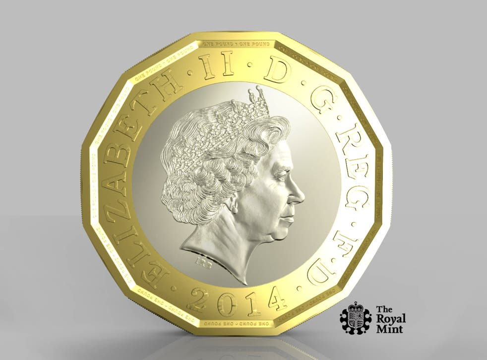 The new pound coin will be composed of two metals