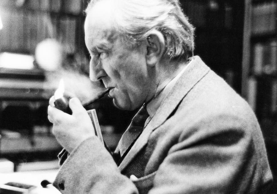 High School Graduation Essay Jrr Tolkien In His Study At Merton College Oxford In  Easy Essay Topics For High School Students also Learn English Essay The Hobbit At  What Were Jrr Tolkiens Inspirations Behind His  Fahrenheit 451 Essay Thesis