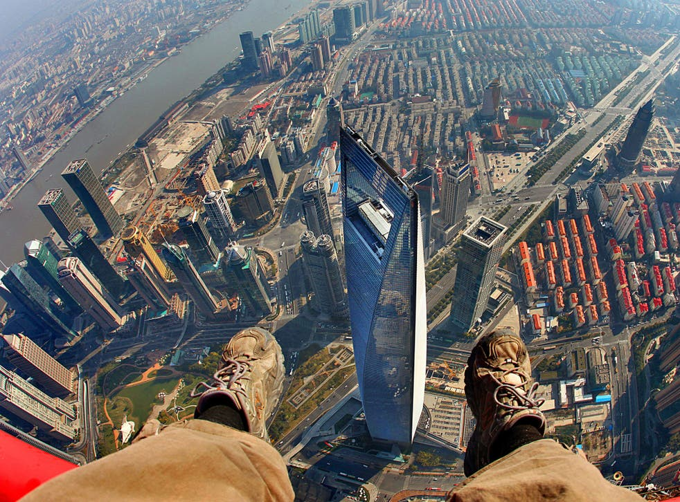 A survey has found that more Britain's suffer from fear of heights than any other phobia