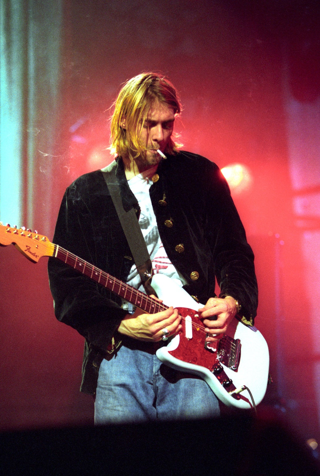 Kurt Cobain Live Wallpaper