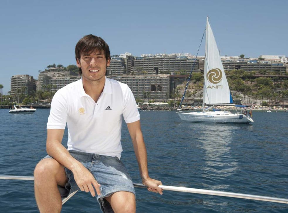 David Silva is an ambassador for Anfi Group, a luxury holiday company on the holiday island of Gran Canaria