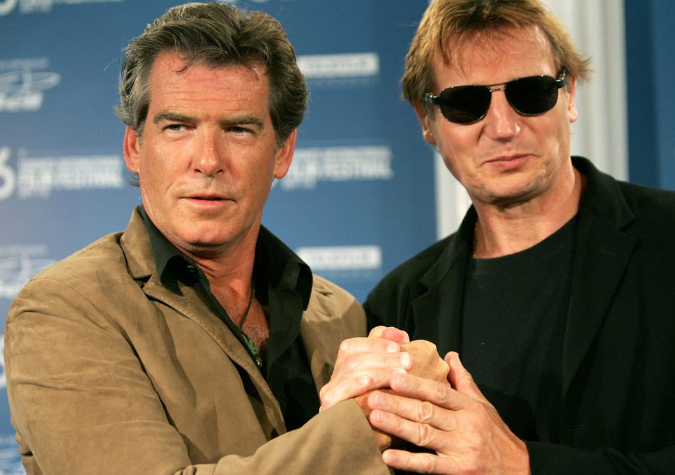 pierce brosnan and liam neeson are teaming up to make northern irish movie a christmas - A Christmas Star Movie