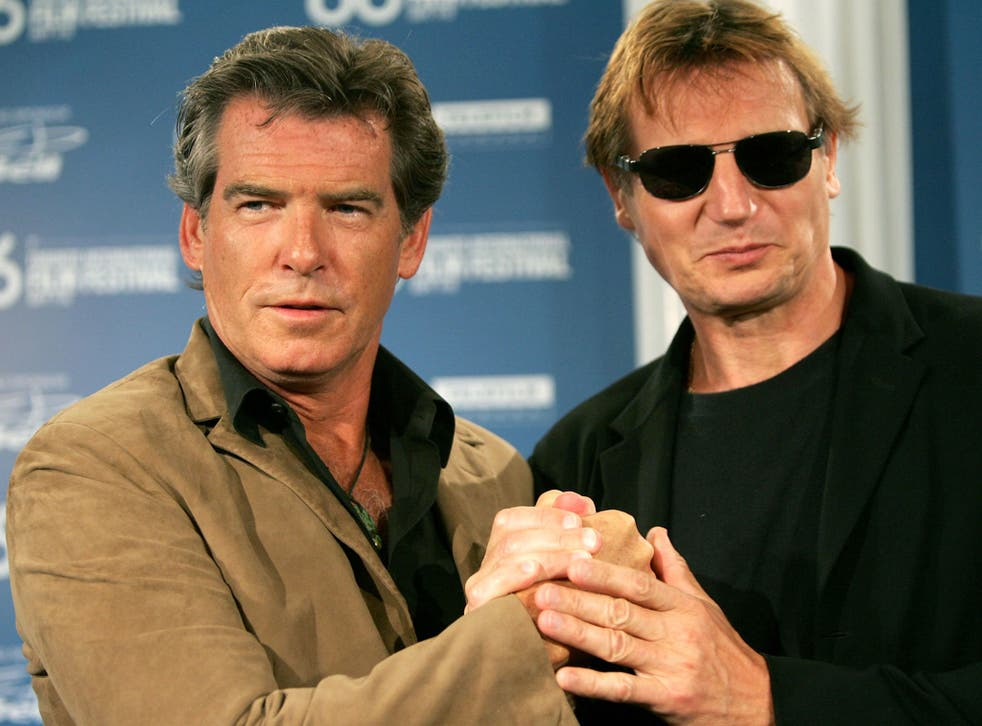 Pierce Brosnan and Liam Neeson are teaming up to make Northern Irish movie 'A Christmas Star' in October 2014