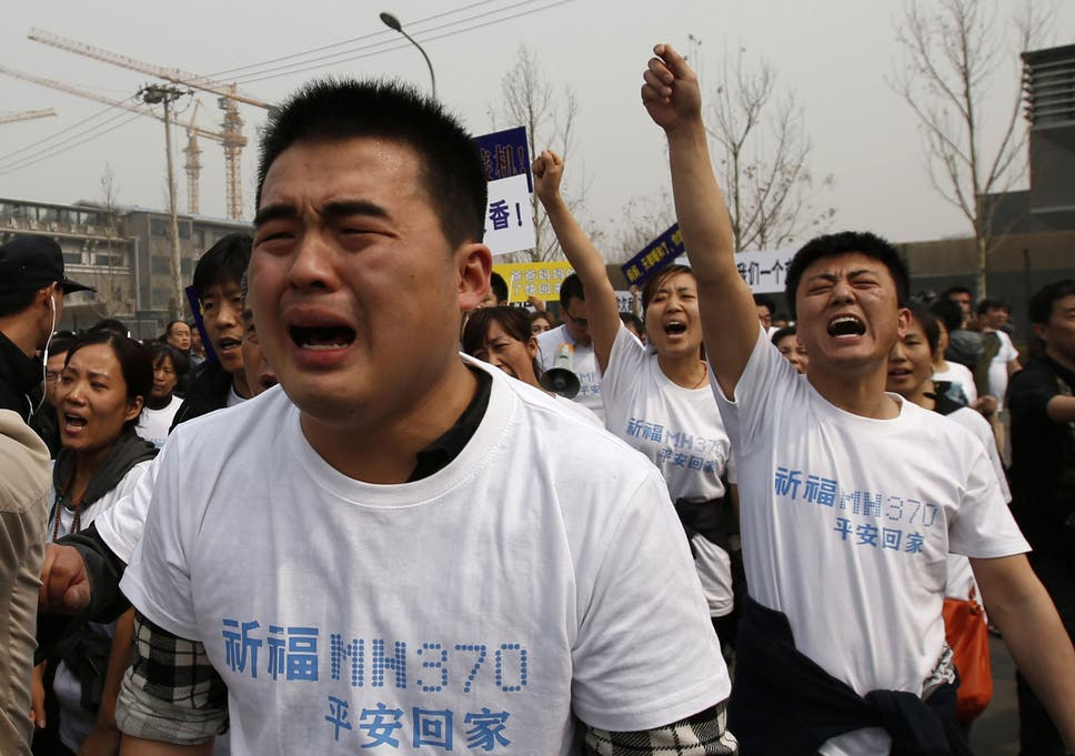 Missing Malaysia Airlines Flight MH370: Chinese families call