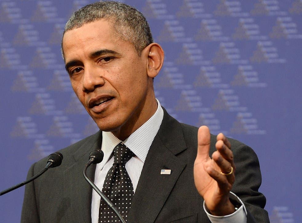Barack Obama used the summit to toughen is rhetoric on the Ukraine crisis