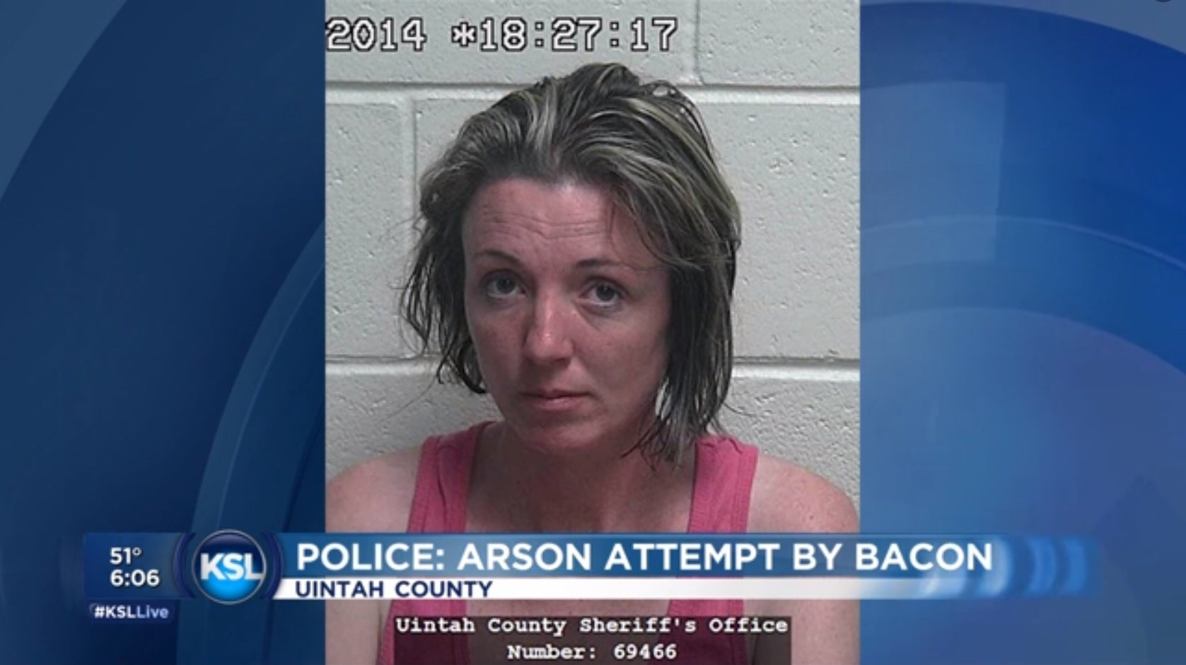 Woman named 'Crispi' uses bacon in arson attempt | The IndependentShape