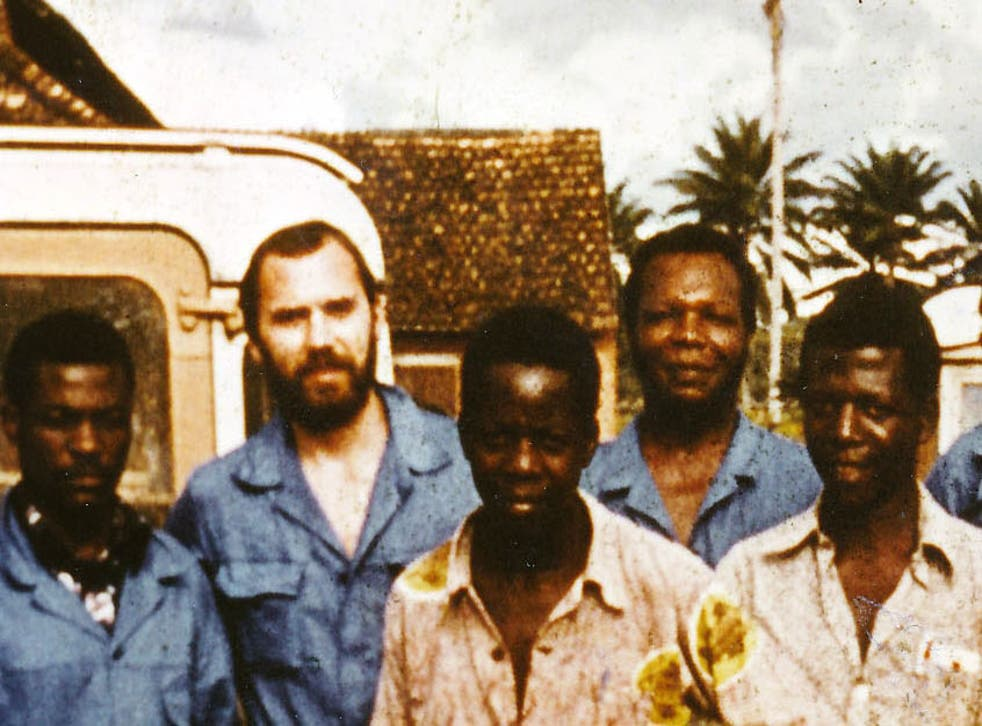 Peter Piot in Yambuku, northern Congo (then Zaire), in 1976, where he was part of the original team to discover the Ebola virus