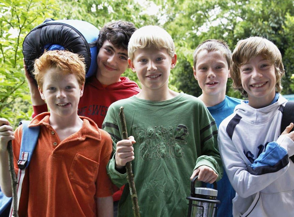 Go wild: many camp programmes focus on adventure