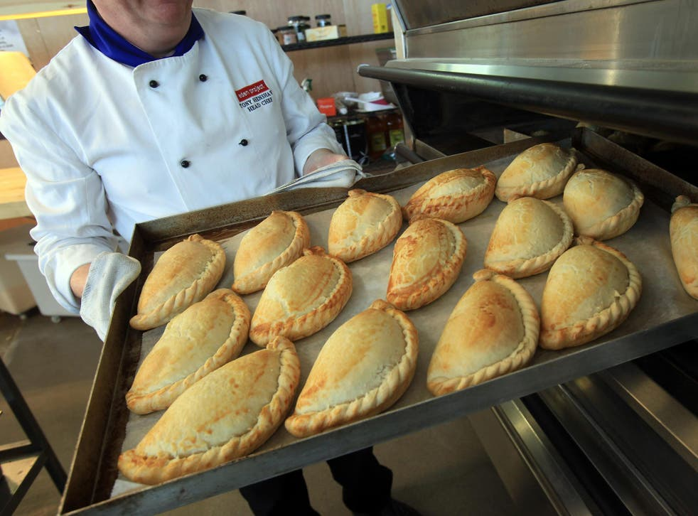 Cornish delight: golden, delicious and fresh from the oven