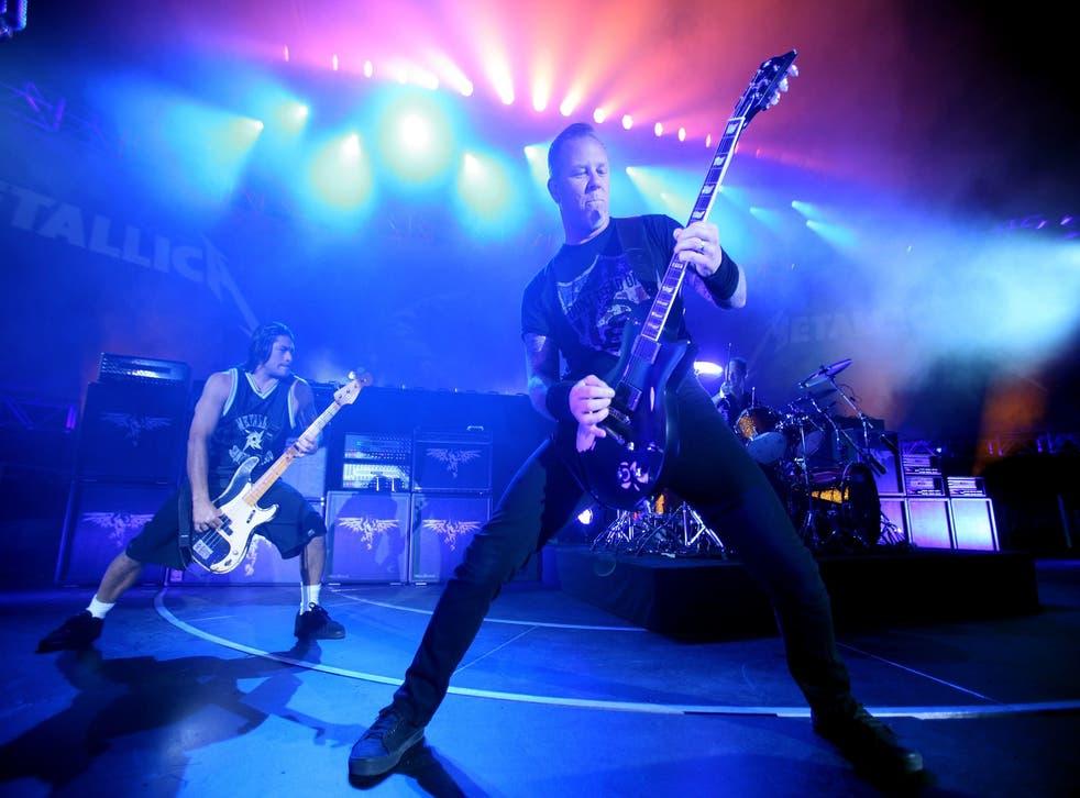 Metallica have so far proved an unpopular choice as Glastonbury headliners