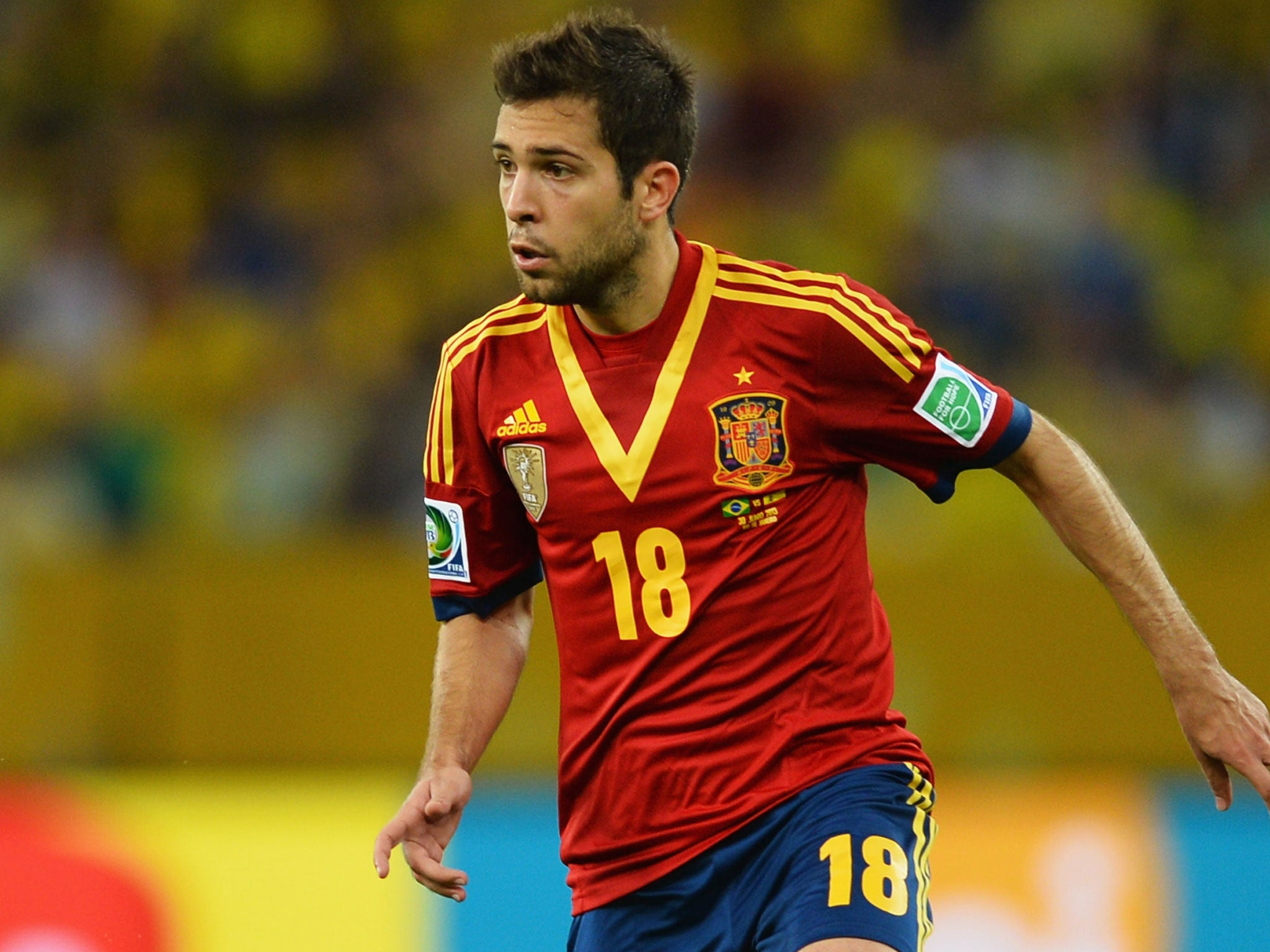 world cup 2014 player profile jordi alba the spain