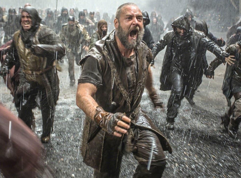 Russell Crowe in Darren Aronofsky's 'Noah'
