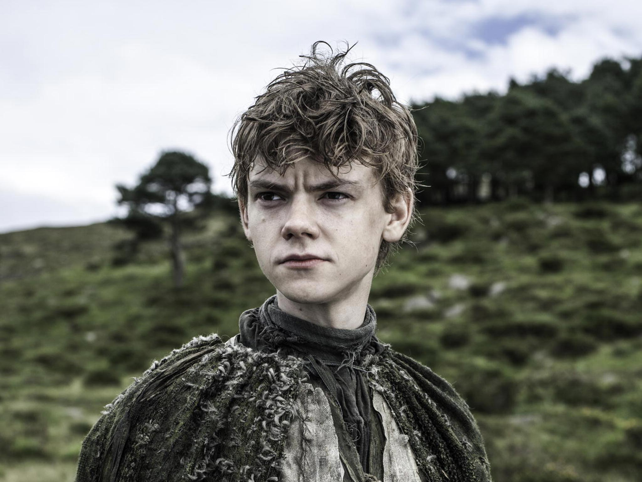 Image result for thomas brodie sangster as jojen reed