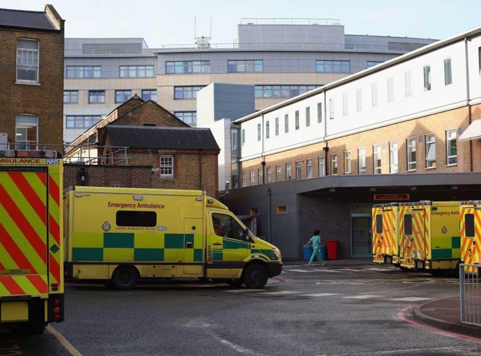 <p>The A&E department at University Hospital Lewisham</p>