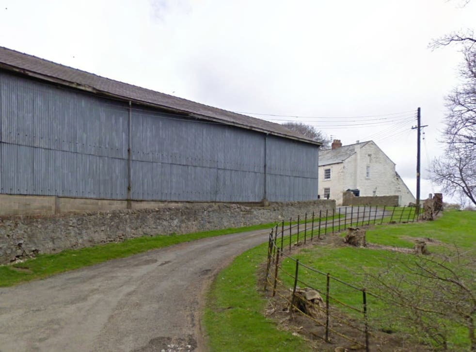 Hulam Farm, County Durham, where reject crisps are recycled into pig feed
