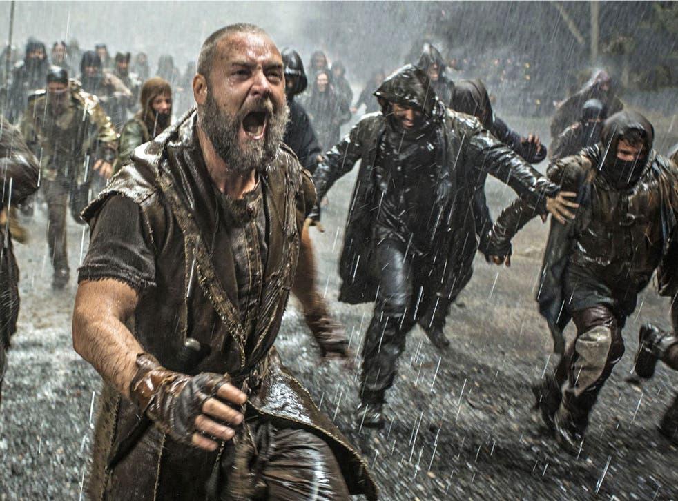 Storm warning: Russell Crowe as Noah