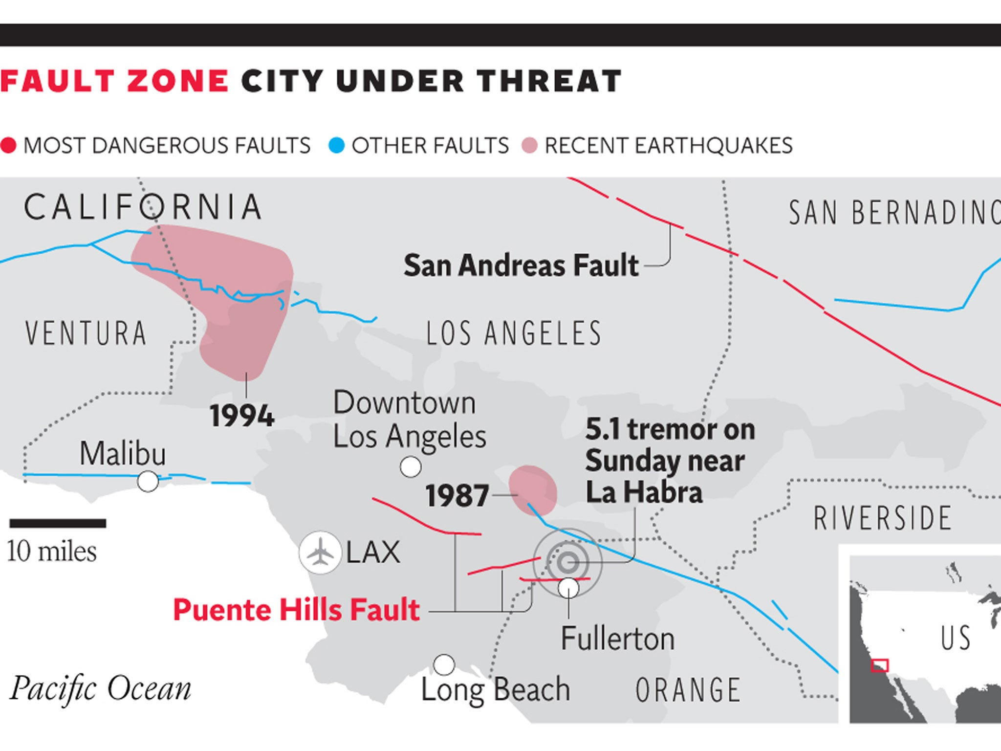 California earthquakes 2014: Los Angeles trembles in