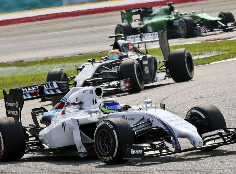 Felipe Massa failed to let his team-mate through