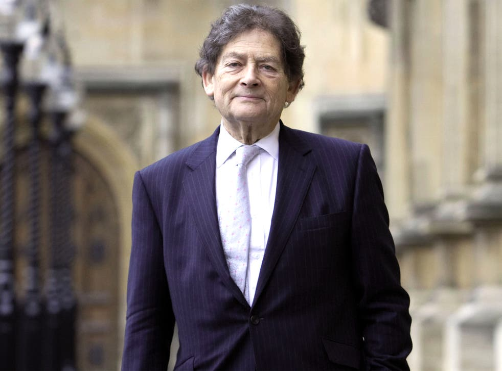 Lobbyist Lord Lawson is a vociferous climate change sceptic