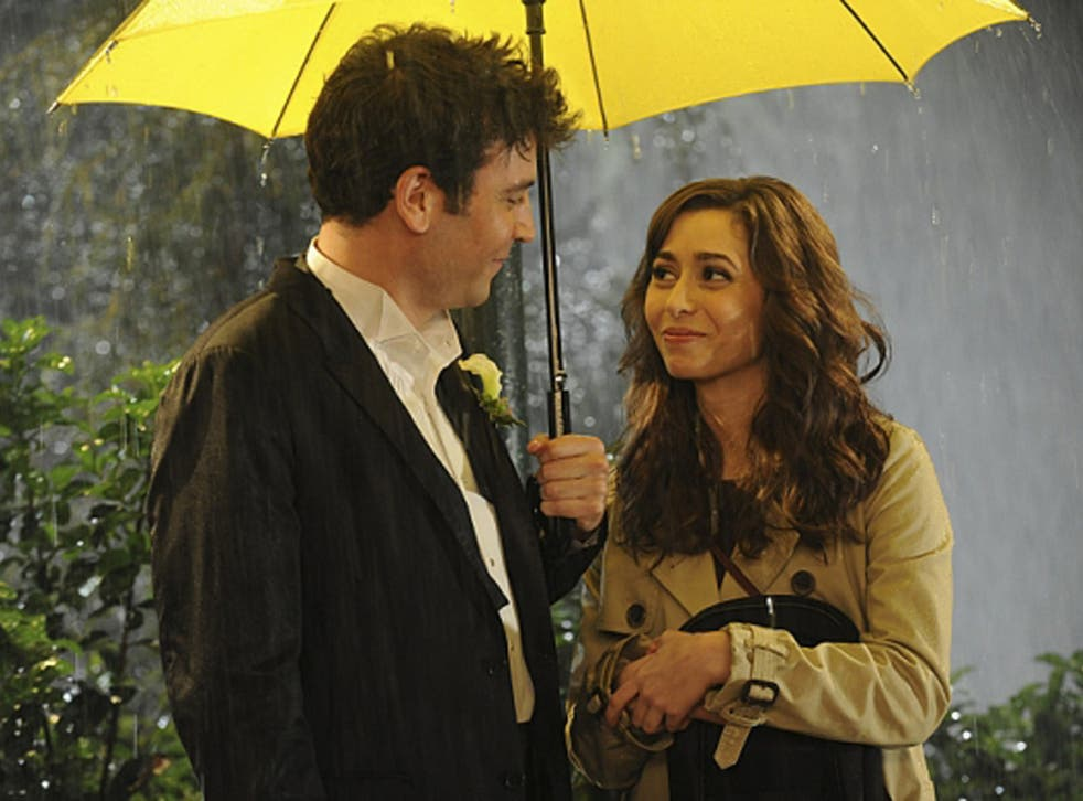 Josh Radnor as Ted and Cristin Milioti as Tracy in the final ever 'How I Met Your Mother'