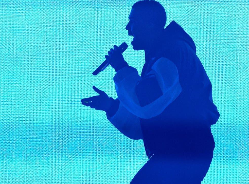 Drake performs at London's O2 Arena