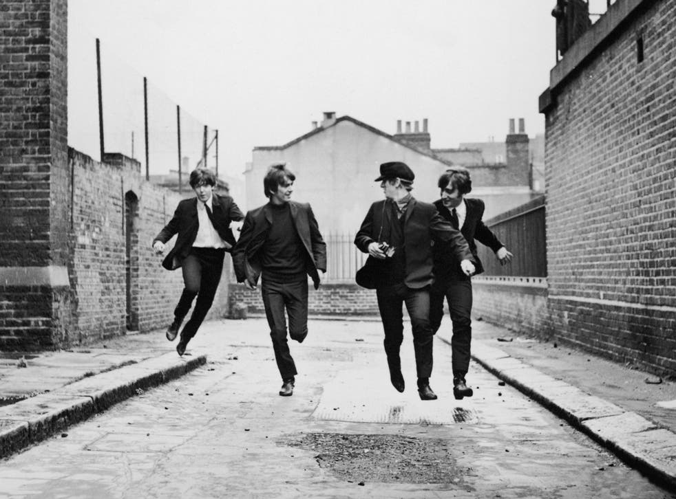 The Beatles in 'A Hard Day's Night' (1964);
