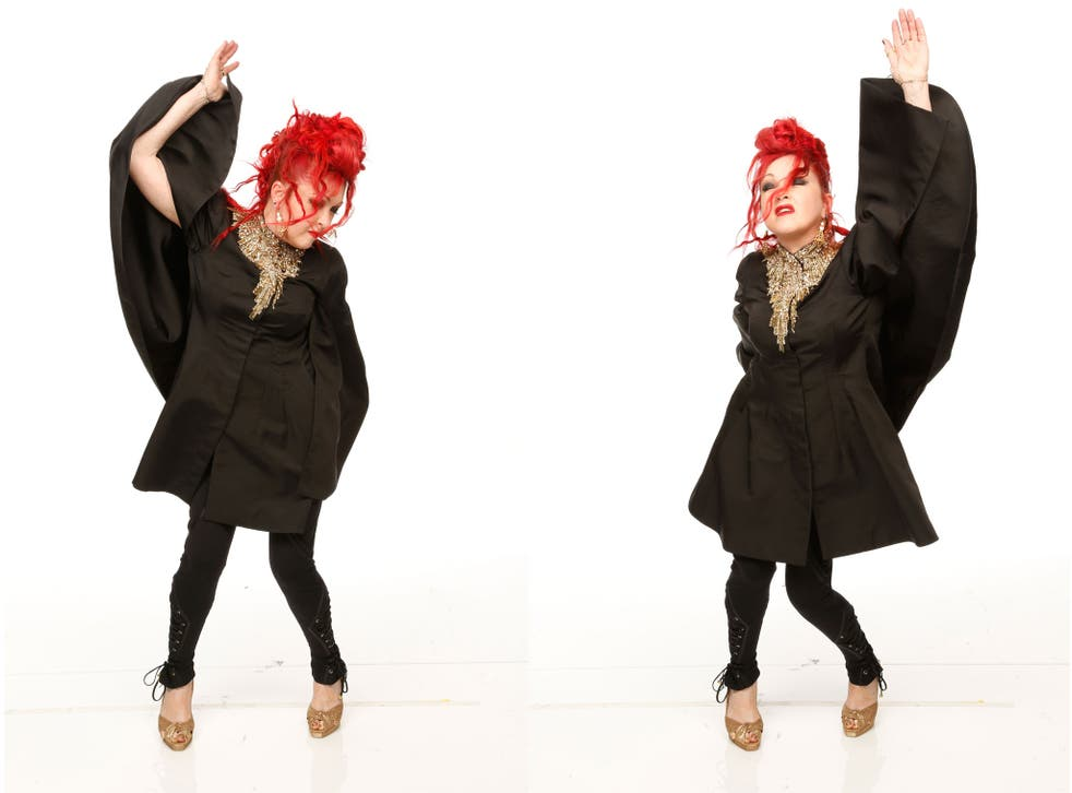 She bop: Cyndi Lauper at the Grammys this year