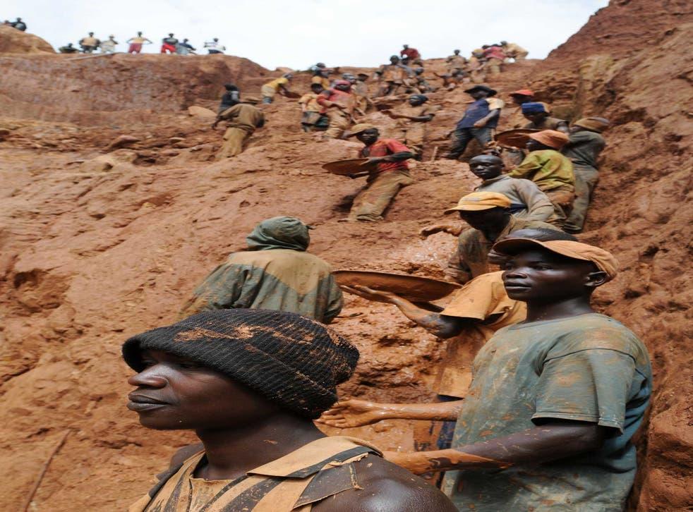 Horror and heroism: a gold mine near Bunia in the Democratic Republic of Congo