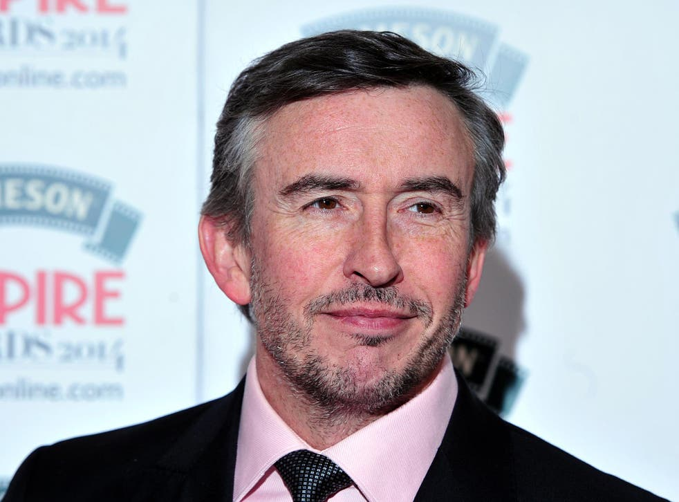 Comedian Steve Coogan has described 'The Trip to Italy' as 'an excuse to do impersonations in a postmodern way'