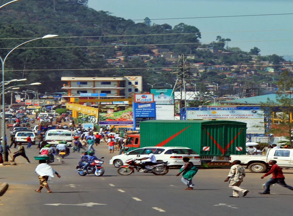 In the fast lane: the pace of Rwanda's growing economy is evident in the busy capital Kigali