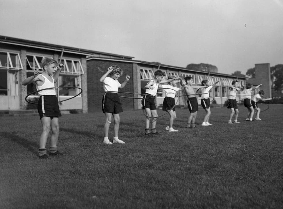 Chances are there's a Linda among these hula-hooping schoolchildren, photographed in 1958