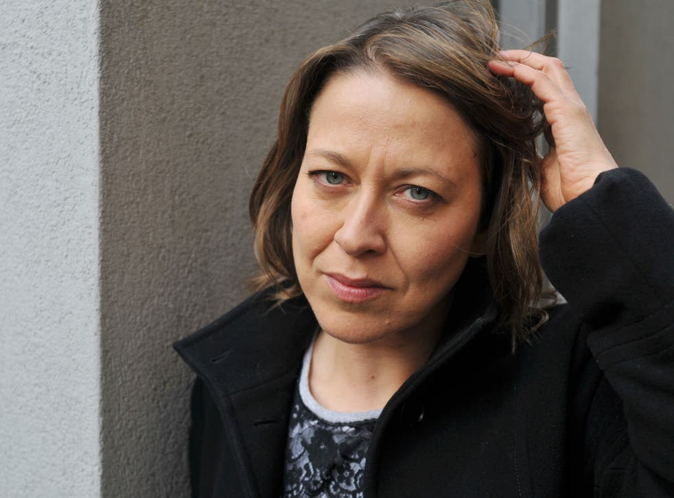 Nicola Walker; as Ruth Evershed in the BBC's spy drama Spooks;