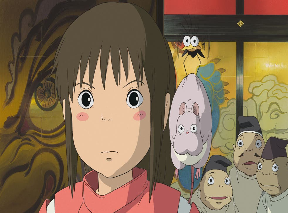 Spirited Away, which won the 2003 Oscar for Best Animated Film