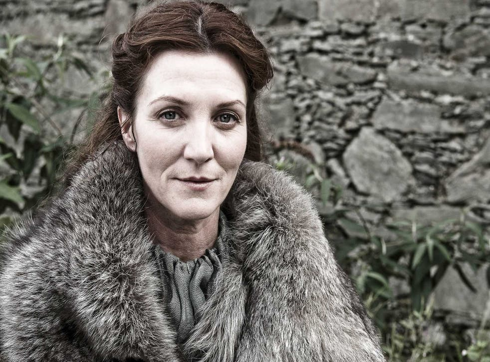 On 'Game of Thrones': 'Of course I'm going to like Lady Catelyn Stark'
