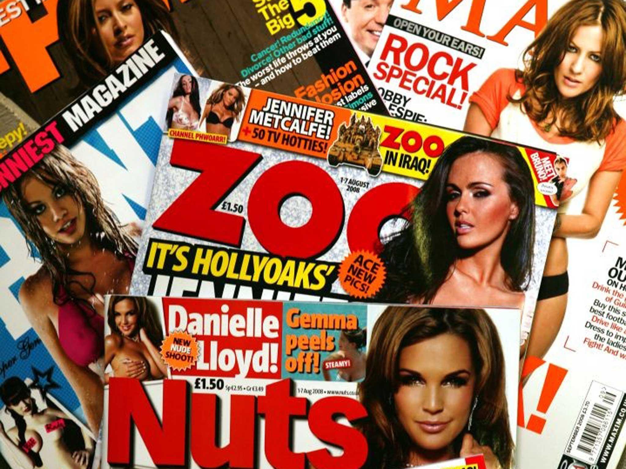 Lads magazines naked (47 images)